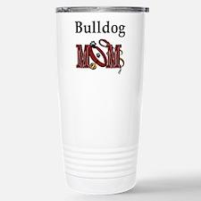 Bulldog Mom Stainless Steel Travel Mug