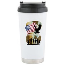 camouflage troop support Thermos Mug