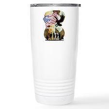camouflage troop support Travel Mug