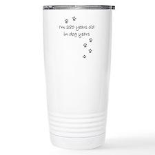40 dog years 2-1.JPG Travel Mug