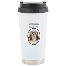 Lhasa Apso Mom Travel Mug
