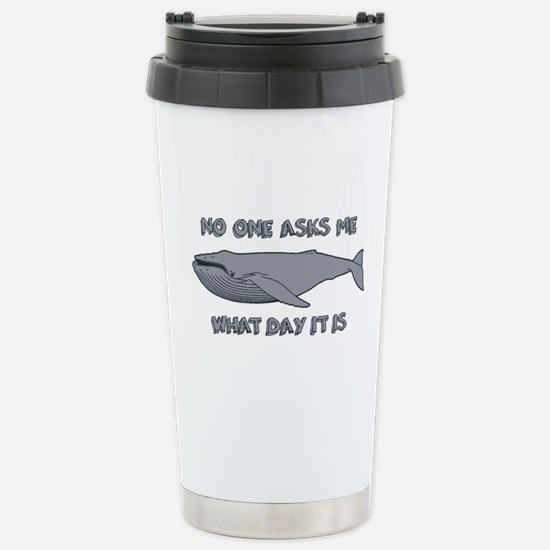 Sad Hump Day Humpback Stainless Steel Travel Mug