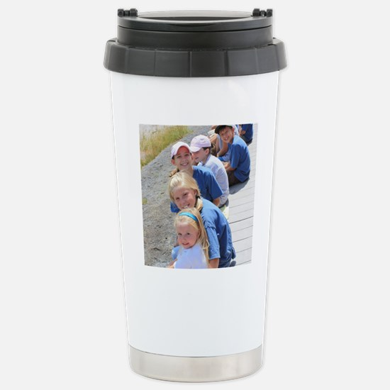 Add your Square Photo Stainless Steel Travel Mug