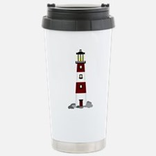 Lighthouse Stainless Steel Travel Mug