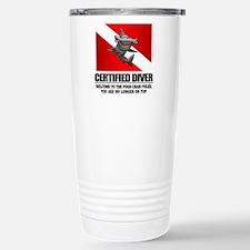 Certified Diver (Food Chain) Travel Mug