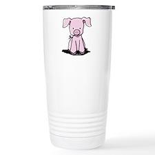 Sittin' Piggie Travel Coffee Mug