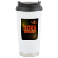 Life Elsewhere In The Universe Thermos Mug