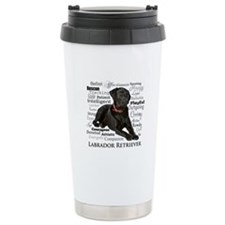 Black Lab Traits Travel Mug