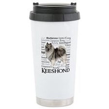 Keeshond Traits Travel Mug