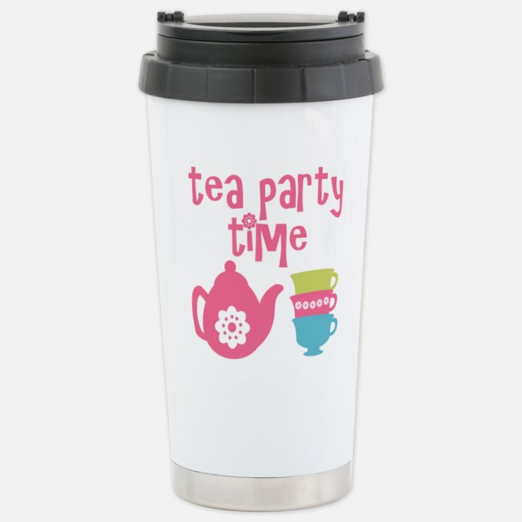 Tea Party Time Travel Mug