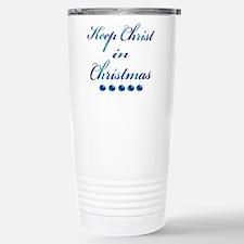 Keep Christ in Christmas Travel Mug