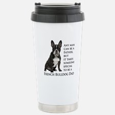 Frenchie Dad Travel Mug