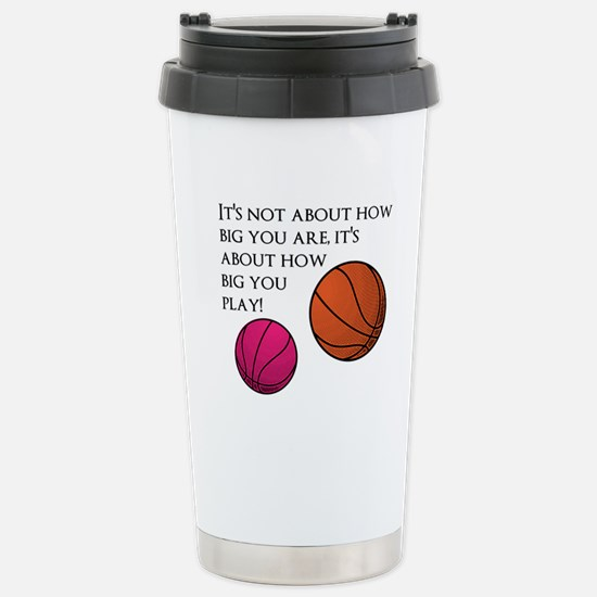 How Big You Are Stainless Steel Travel Mug