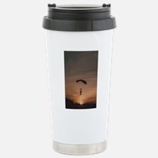 Sunset Skydiver Travel Mug