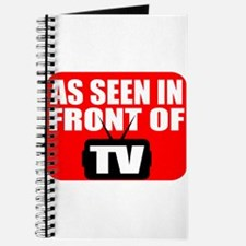 As Seen In Front Of TV Journal