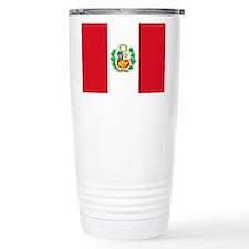 Flag of Peru Travel Mug