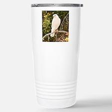 White red tail hawk Travel Mug