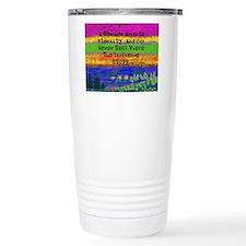 Watercolor Retired TEacher 2 Travel Mug