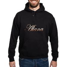 Gold Alana Hoodie