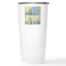 Cat Cartoon Stainless Steel Travel Mug