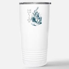 Late Rabbit Travel Mug