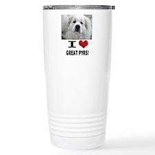 I Love Great Pyrene... Thermos Mug