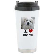 I Love Great Pyrene... Travel Mug