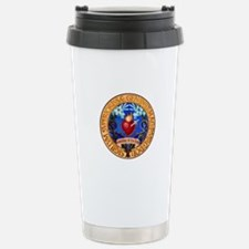 Immaculate Heart Emblem Travel Mug