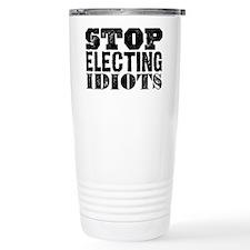 Elected Idiots Travel Mug