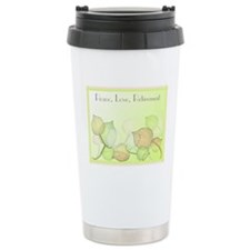 Peace Love Retirement Travel Mug