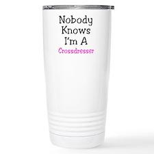 Crossdresser Stainless Steel Travel Mug