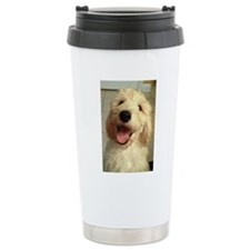 Happy Goldendoodle Travel Mug