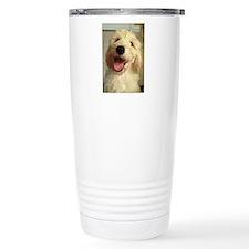 Happy Goldendoodle Travel Mug