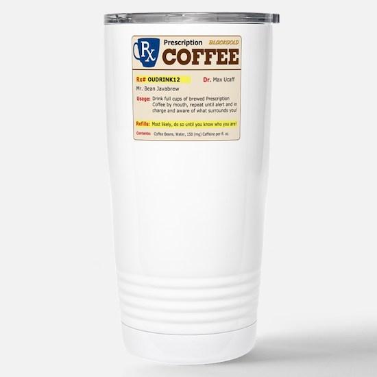 Prescription Coffee Stainless Steel Travel Mug