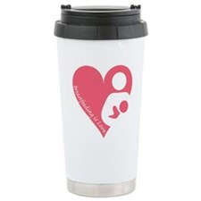 Breastfeeding is Love Travel Coffee Mug