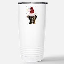 boxer ornament Travel Mug