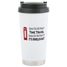 Time Travel Travel Mug