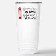Time Travel Stainless Steel Travel Mug