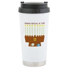 Chanukah Travel Mug