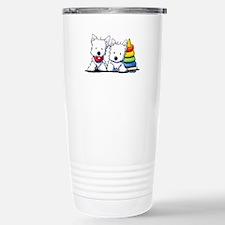 Westie Playful Puppies Travel Mug