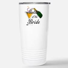mother of bride black.png Travel Mug