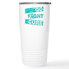 PCOS Go Fight Cure Travel Mug