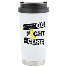 Ewings Sarcoma Go Fight Cure Travel Mug