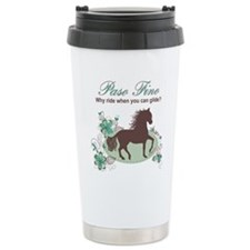 Cute Paso fino horse Travel Mug