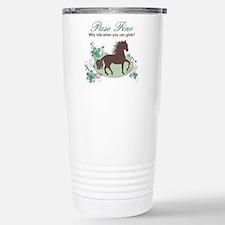 Cute Gaited horse Travel Mug