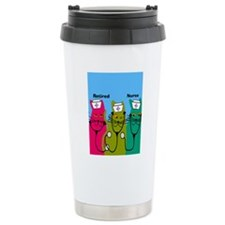 retired nurse ff 7 Travel Mug