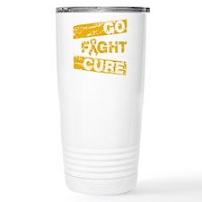 Appendix Cancer Go Fight Cure Travel Mug