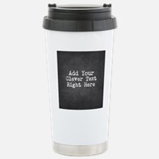 Chalkboard template Travel Mug