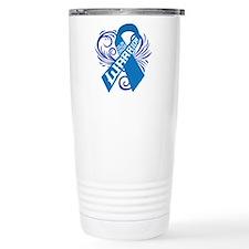 Colon Cancer Warrior Thermos Mug