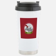 Photo Frame with Year Red Travel Mug